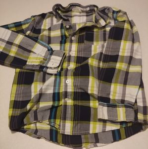 Boys button up flannel